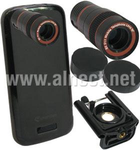 Jual Universal Smartphone Tele Zoom 8X Lens Kit - Photo Selfie Tools - Alnect Komputer Web Store